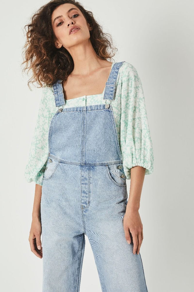 Rolla's - Roxanne Blossom Top - Fresh Mint