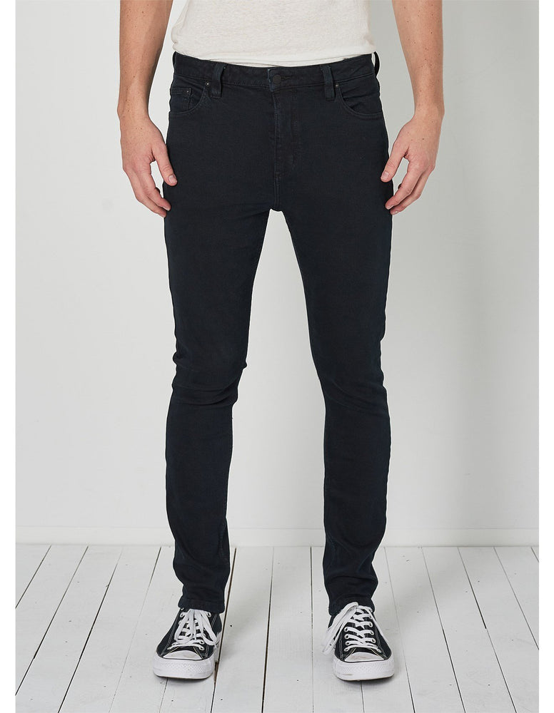Rolla's - Tim Slim Jeans in Organic Stone Black