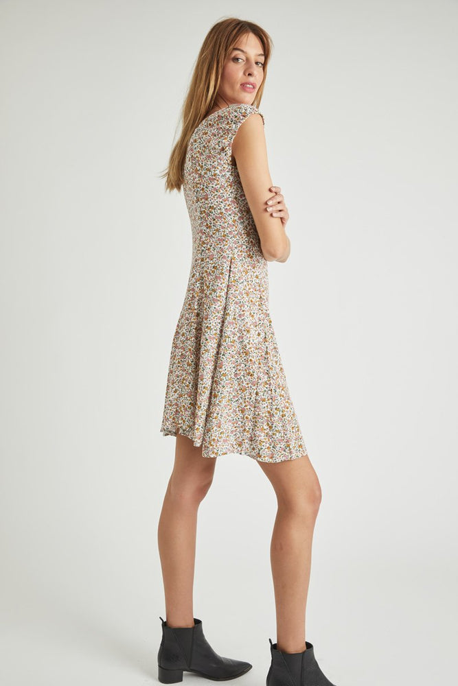 Rollas - Erin Coast Dress in White Floral