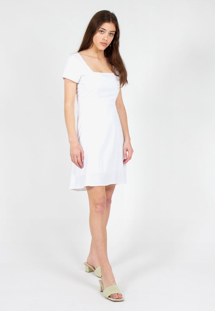 Rollas - Roxanne Linen Dress in White