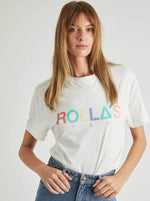 Rollas - Tomboy Multi Logo Tee in Multi
