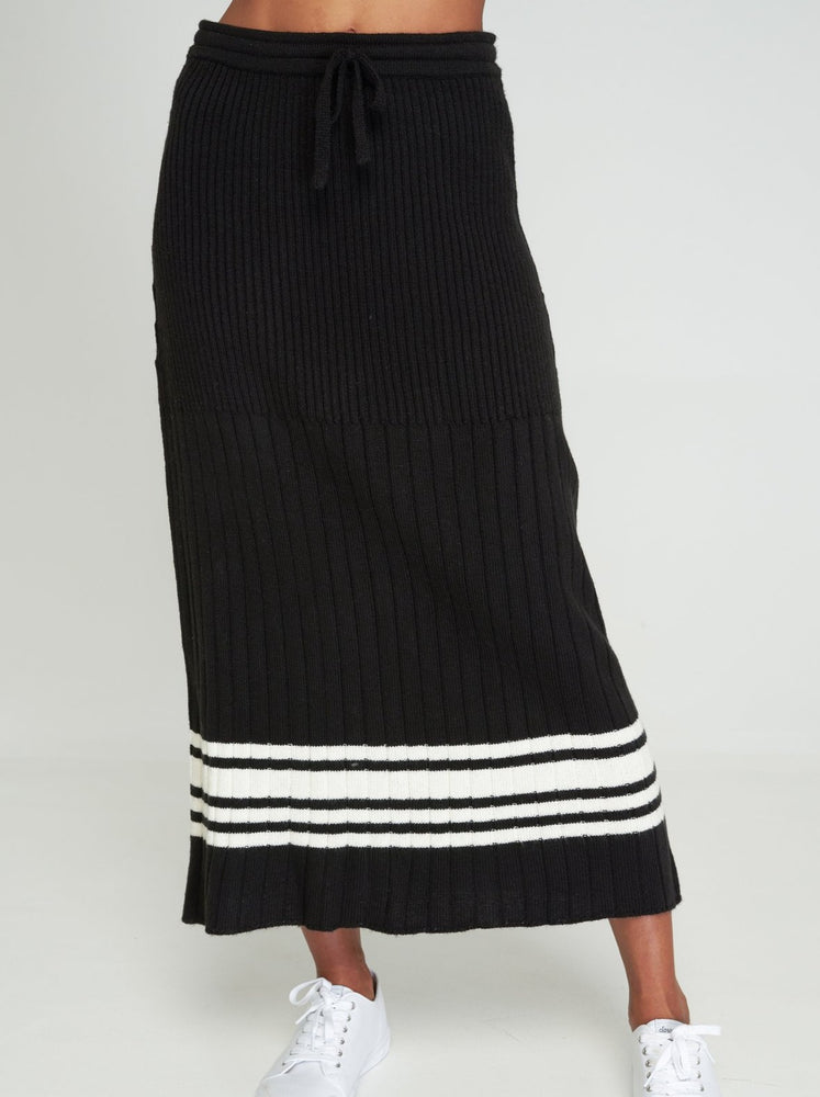 Rue Stiic - Nico Knit Skirt in Black