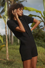 Rue Stiic - Ryder Knit Romper in Black