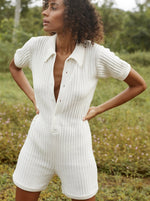 Rue Stiic - Ryder Knit Romper in White