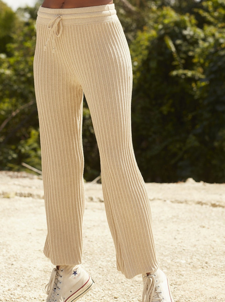 Rue Stiic - Shae Knit Pant in Sand