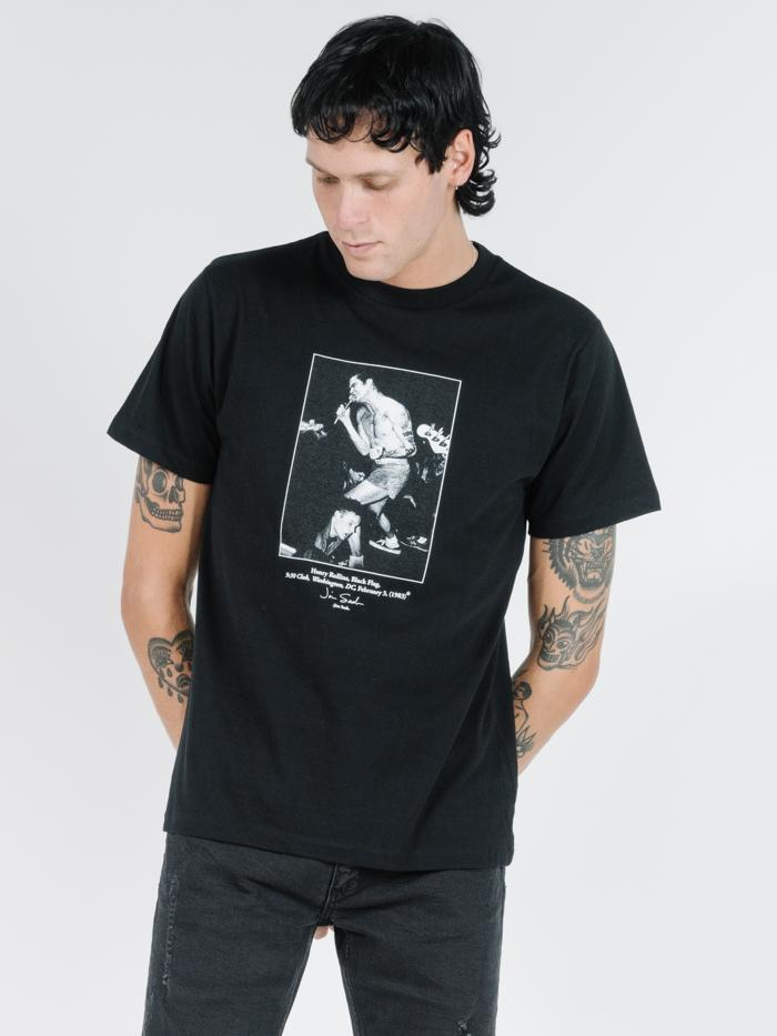 Thrills - Henry Merch Fit Tee - Black
