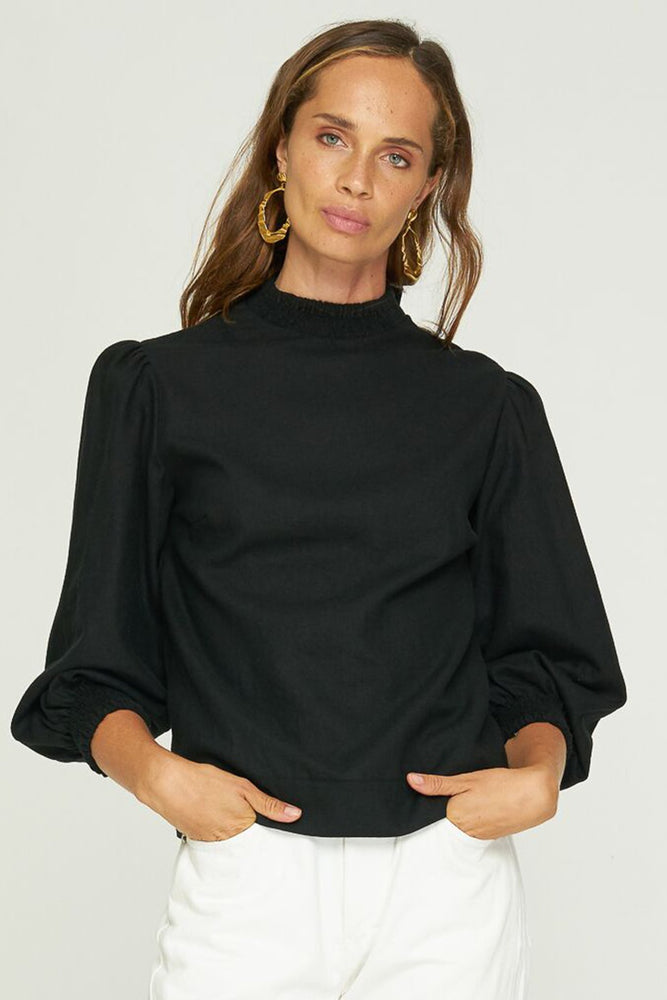 Rue Stiic - Ginger Top in Black