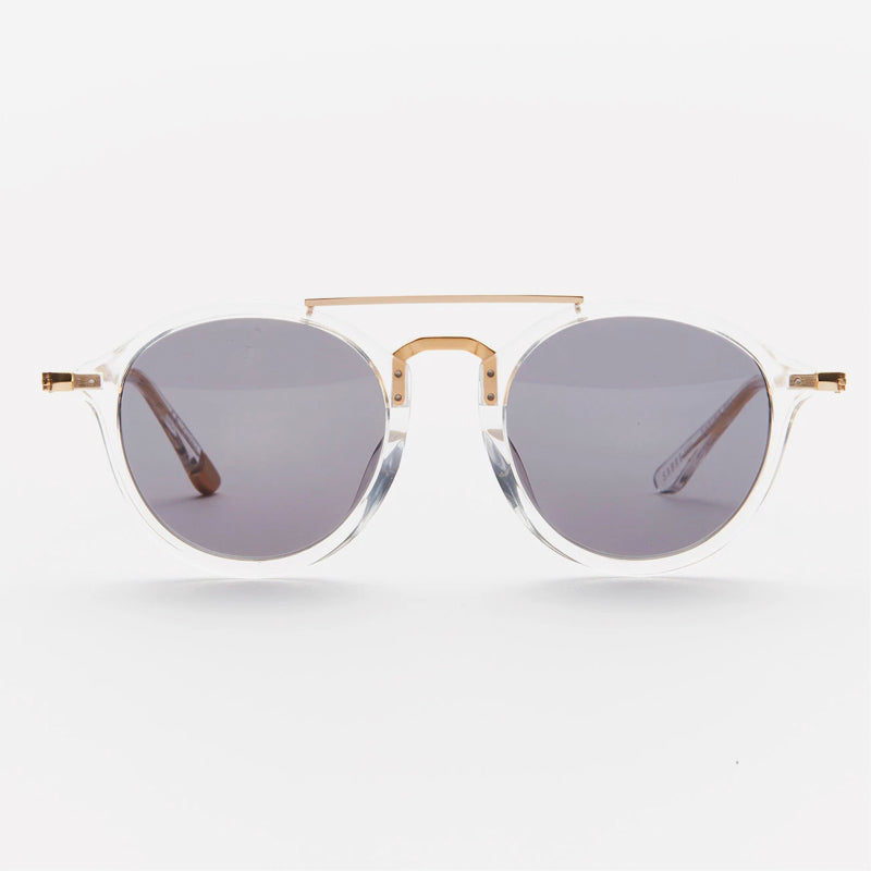 Sabre - Torino Sunglasses in Crystal/Grey