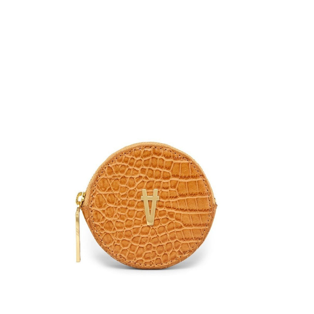 Sans Beast - Full Circle Pouch in Maple Croco
