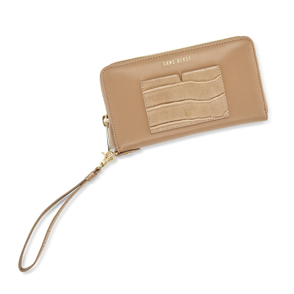 Sans Beast - Insider Wallet in Almond Mix