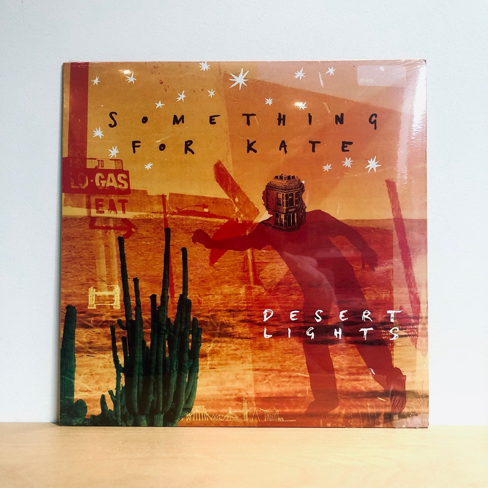 Something For Kate -Desert Lights. LP [Limited Edition Orange Vinyl]