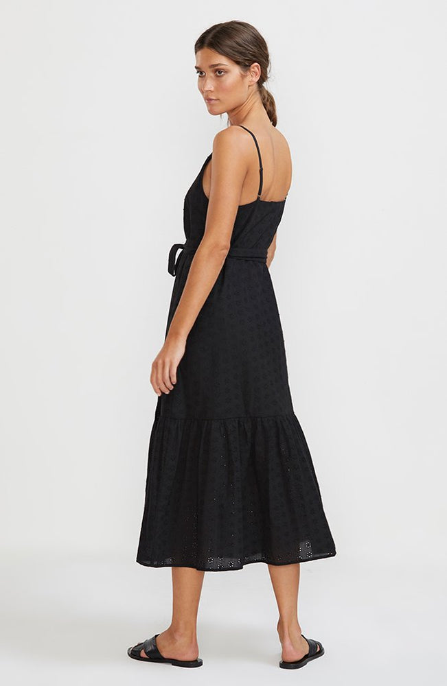 Staple - Devotion Midi Dress in Black