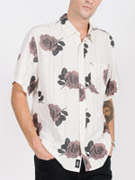 Thrills - Rose Lens Short Sleeve Shirt - Dirty White