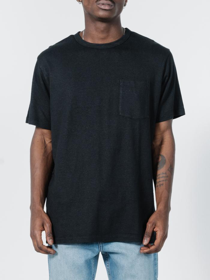Thrills - Endless Merch Fit Pocket Tee in Black