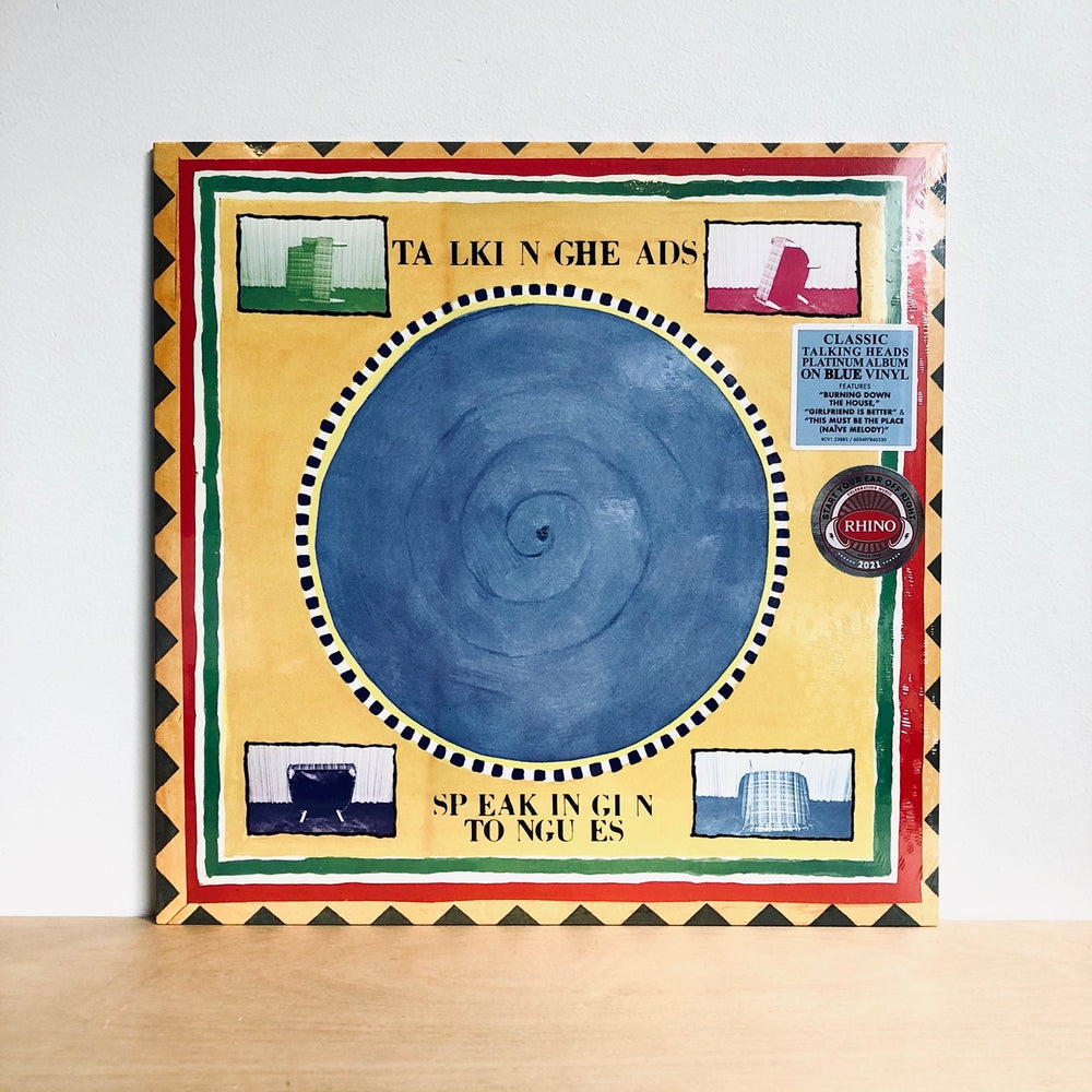 Talking Heads - Speaking In Tongues. LP [Ltd Blue Vinyl Edition]