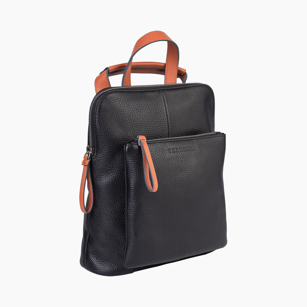 The Horse - The Mini Backpack in Black