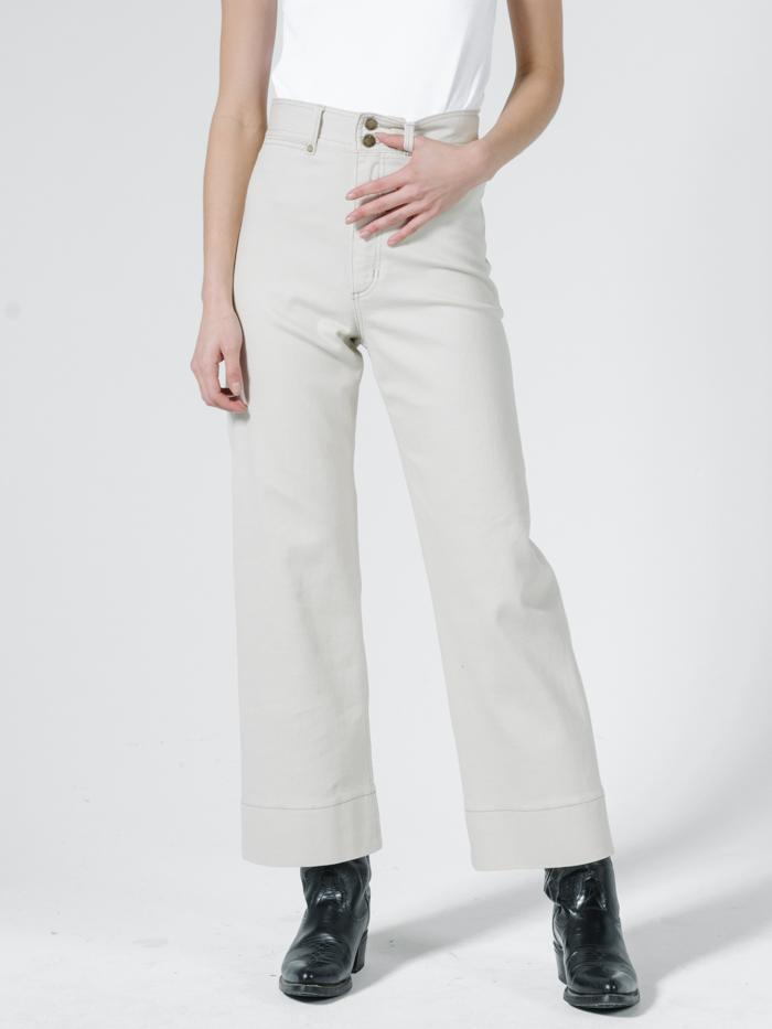 Thrills - Belle Stretch Jean - Vintage Bone