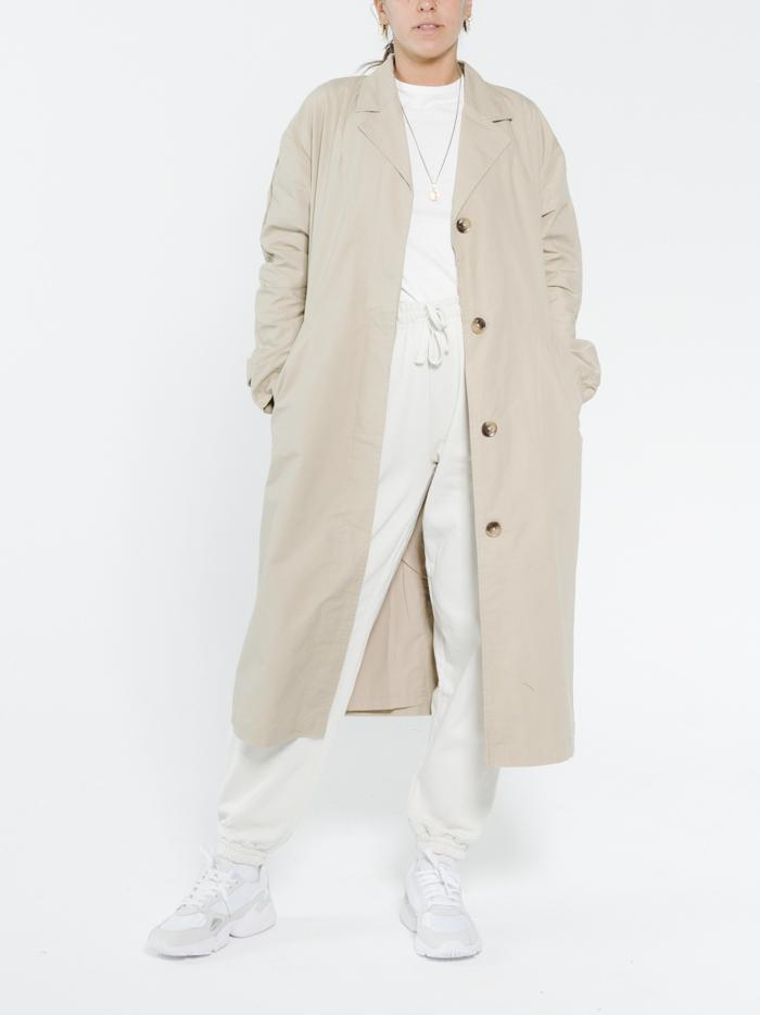 Thrills - Harvey Trench Coast - Vintage Khaki