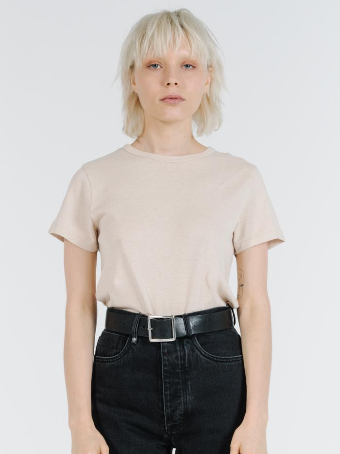 Thrills - Hemp Slim Tee in Nude