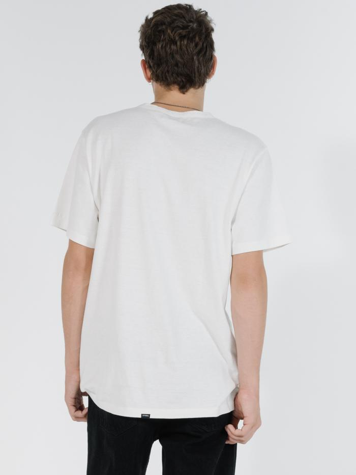 Thrills - Republic Merch Fit Pocket Tee in Dirty White