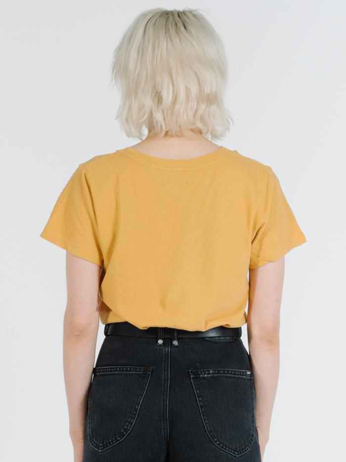 Thrills - Soulfire Band Tee in Mineral Yellow