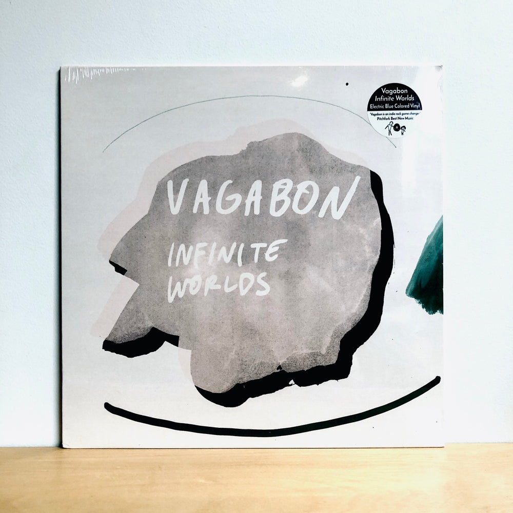 Vagabon -Infinite Worlds LP. [Electric Blue Vinyl Edition]