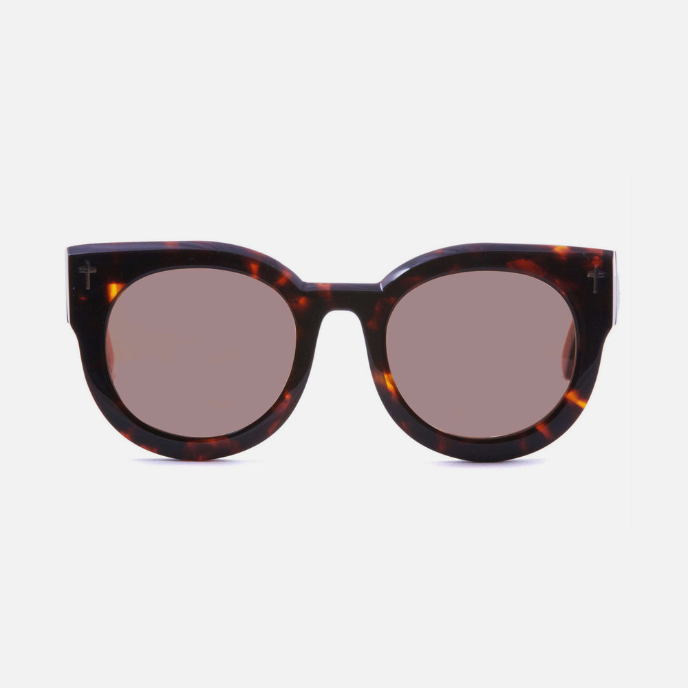 Valley Eyewear A Dead Coffin Club Sunglasses - Dark Tort/ Brown Lens