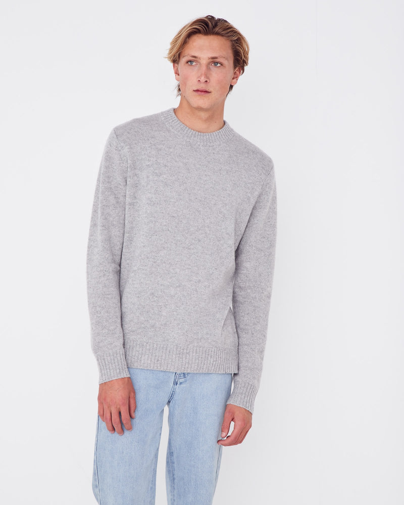 Assembly - Halsten Knit in Grey Marle