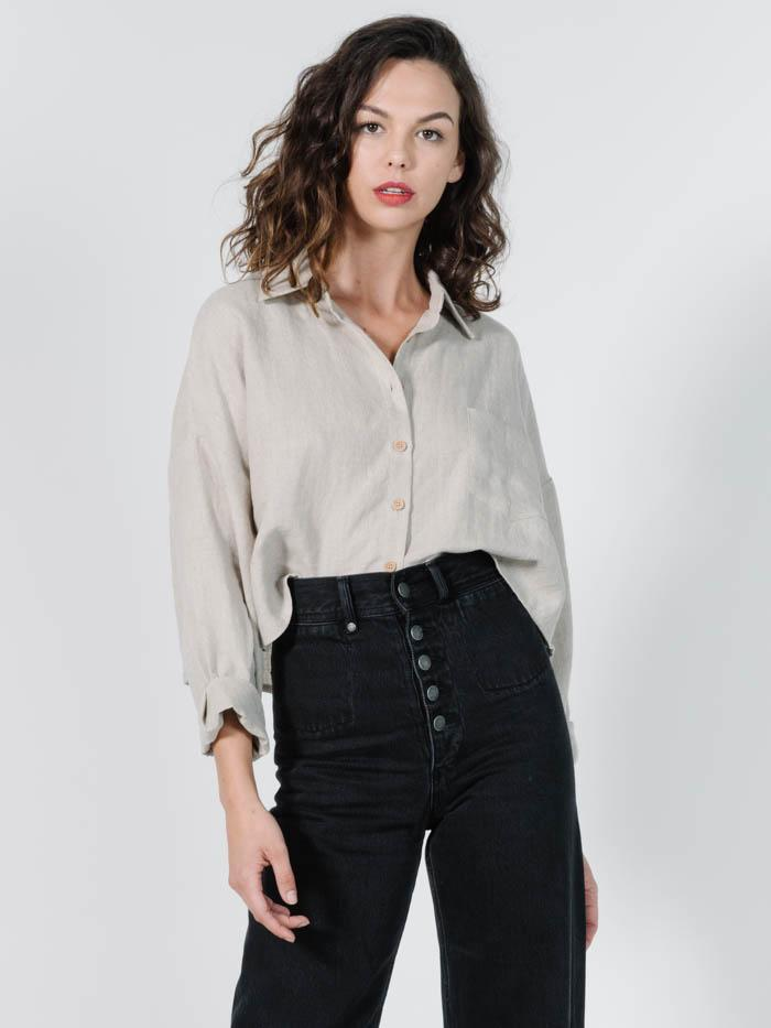 Thrills - Liv Shirt in Oat