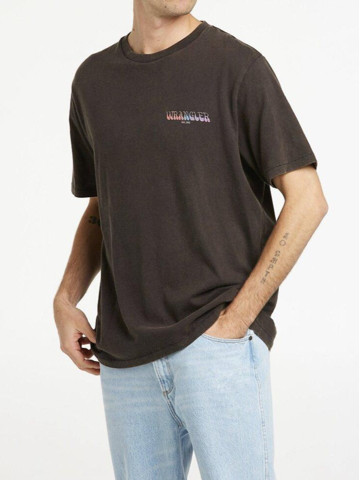 Wrangler - All Seeing SS Tee - Worn Black