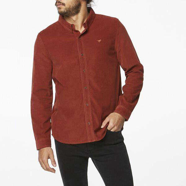 Wrangler - Doing It Clean Longsleeve Shirt in Spiced Cord