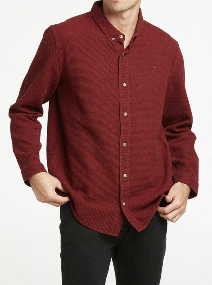 Wrangler - Doing It Clean Shirt - Alder Bark