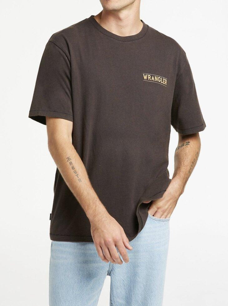 Wrangler - Moonshadow Tshirt - Worn Black