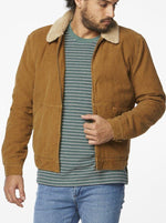 Wrangler - On The Storm Jacket in Ale Cord