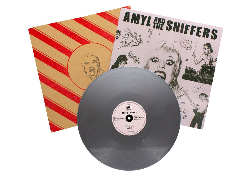 Amyl & The Sniffers - S/T. LP (Chrome Angel -  Silver Vinyl Edition)