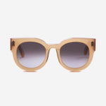 Valley Eyewear - A Dead Coffin Club in Peach/Brown Gradient Lens