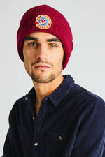 Rollas - MB Beanie in Washed Red