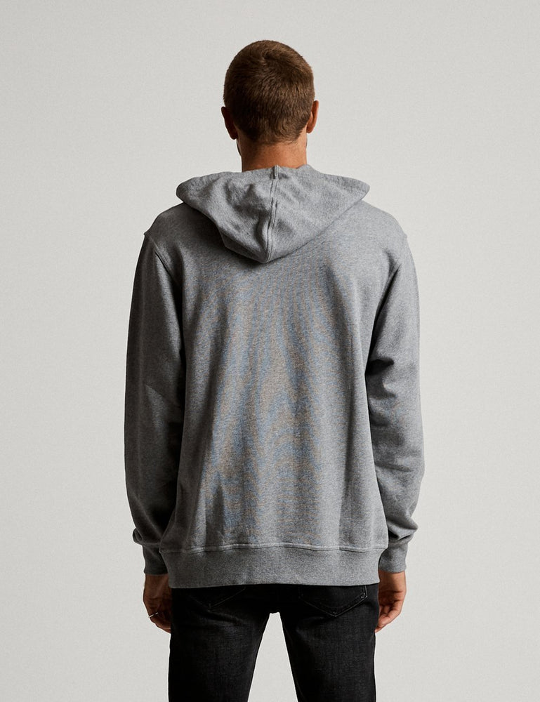 Mr Simple - Fair Trade Pop Over Hood in Grey Marle