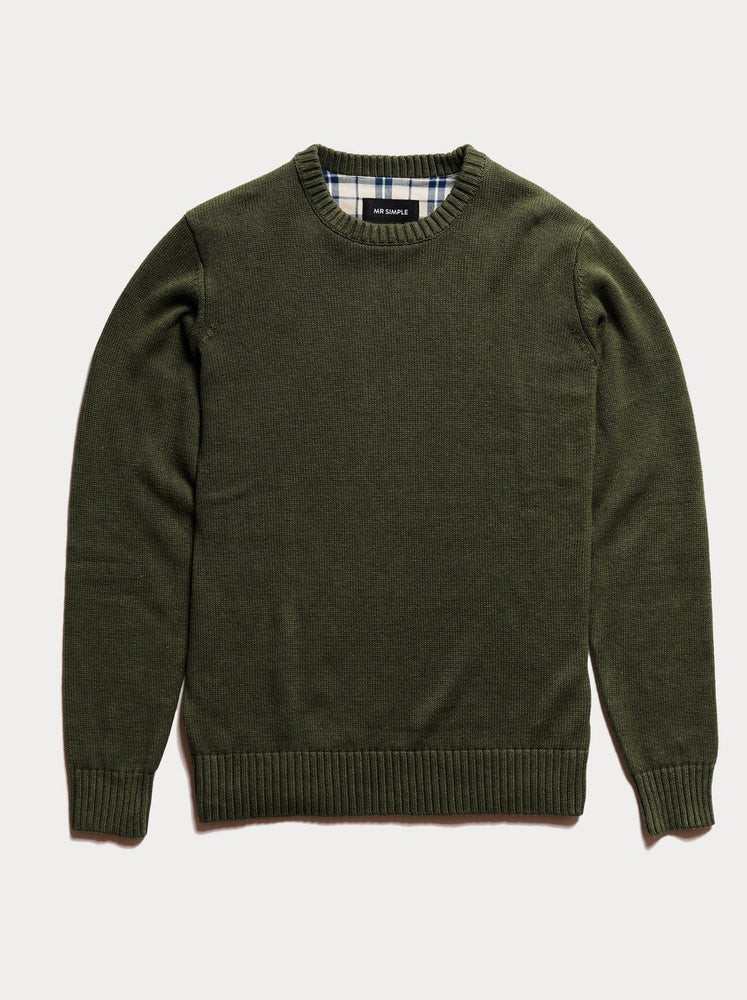 Mr Simple - Standard Knit in Army