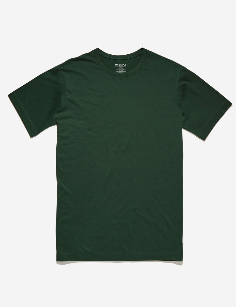 Mr Simple - Reginald T Shirt, Bottle Green,