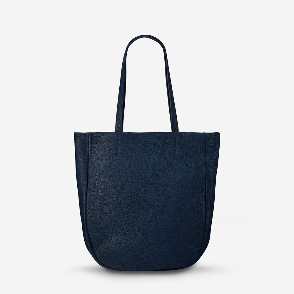 Status Anxiety - Appointed Tote Bag in Navy Blue