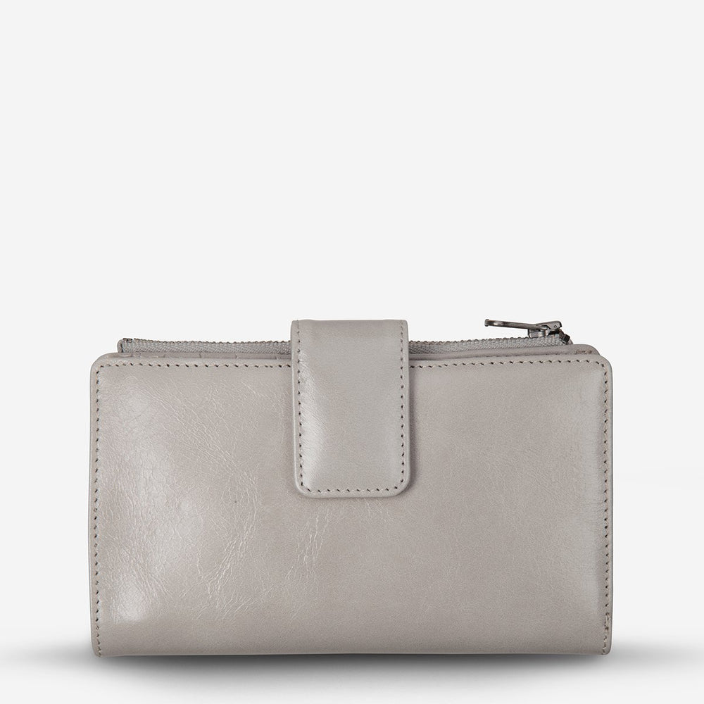 Status Anxiety - Outsider Wallet in Light Grey