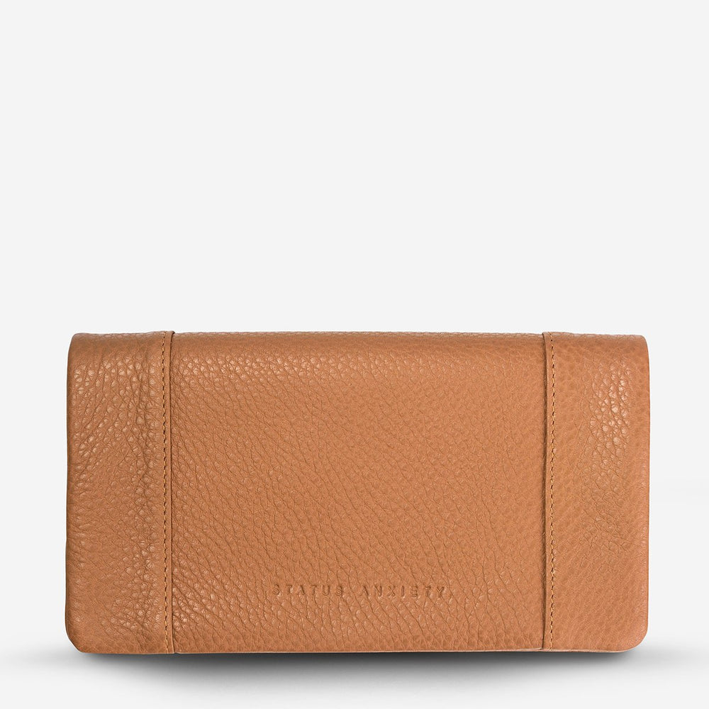 Status Anxiety - Some Type of Love Wallet Tan