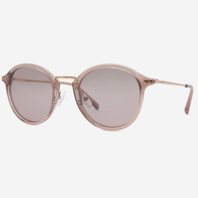 Local Supply - Stadium Sunglasses in Polished Plum with Light Plum Lens