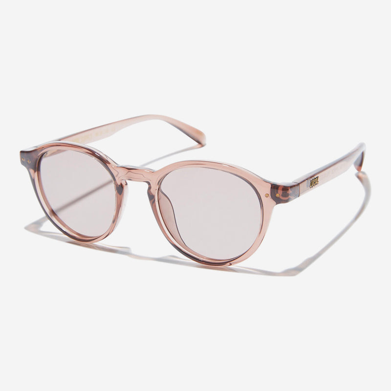 Local Supply - Station Sunglasses in Polished Plum with Light Plum Lens