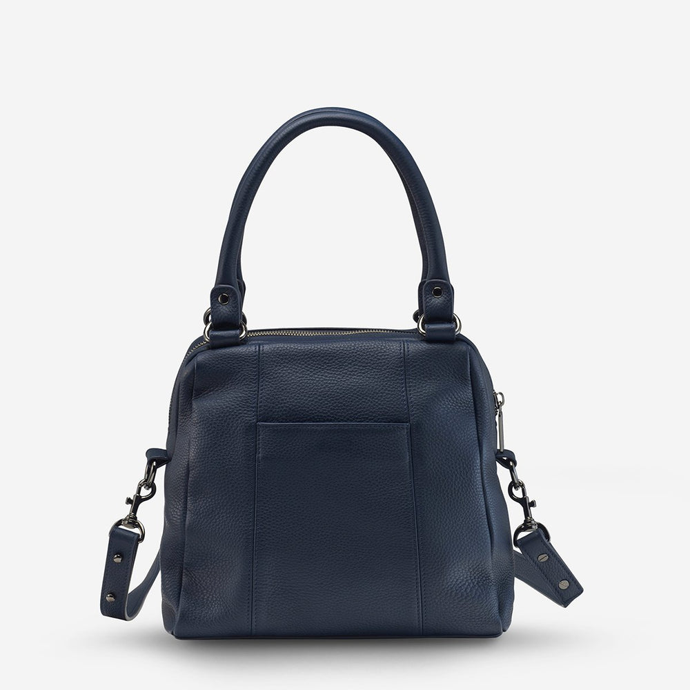 Status Anxiety - Last Mountains Bag in Navy Blue