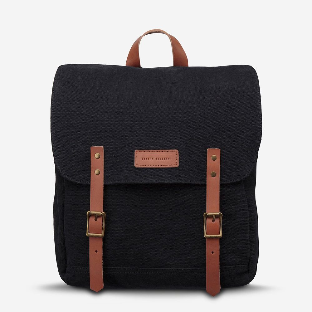 Status Anxiety - Matter Of Backpack in Black