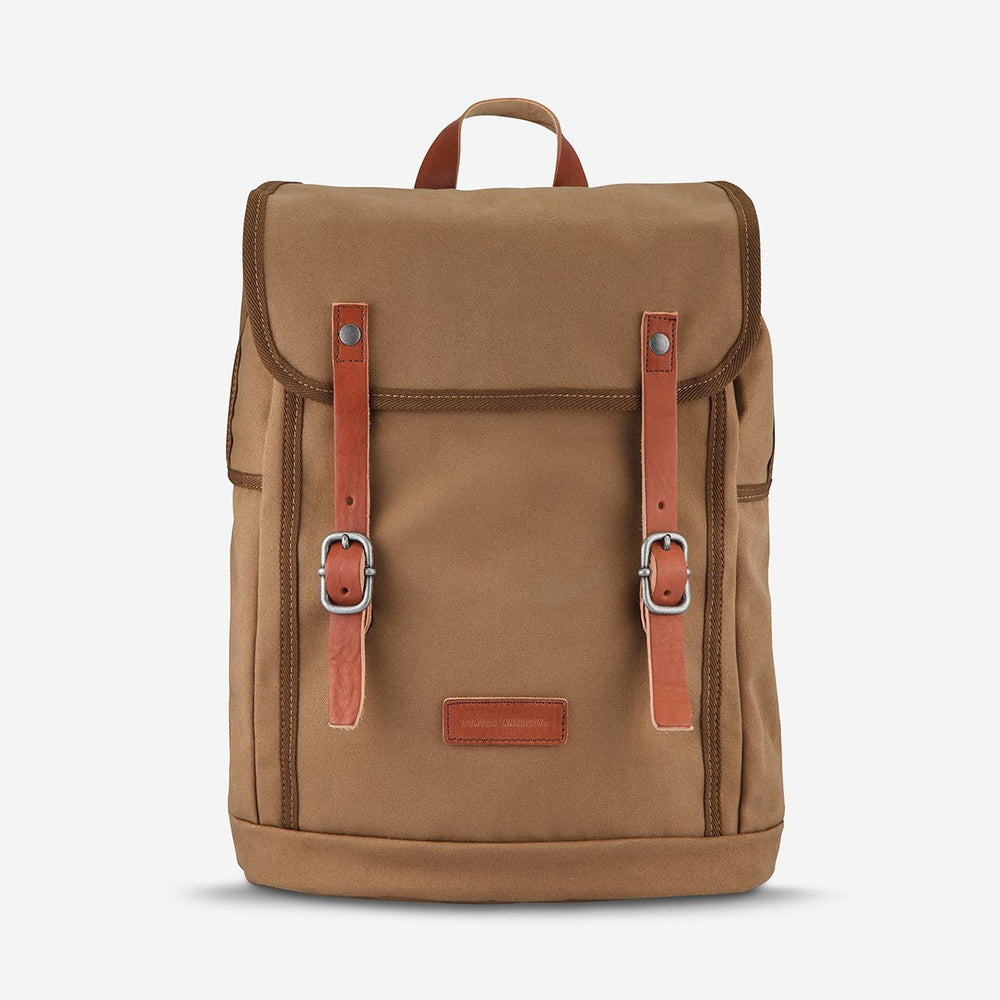 Status Anxiety - Rebellion Backpack in Camel