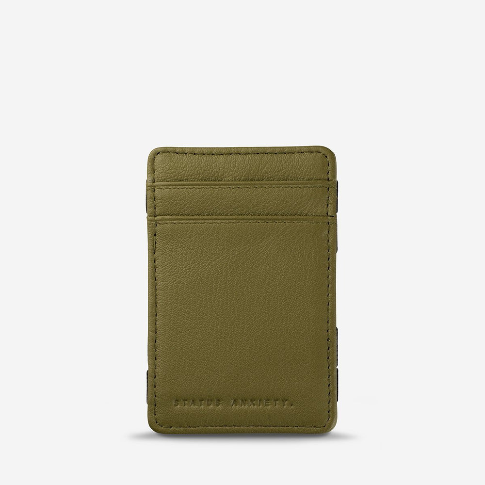 Status Anxiety - Flip Wallet in Khaki