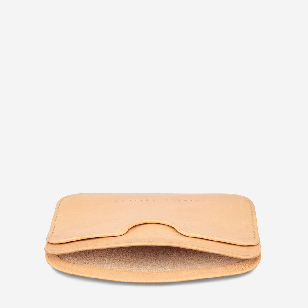 Status Anxiety - Gus Wallet in Tan